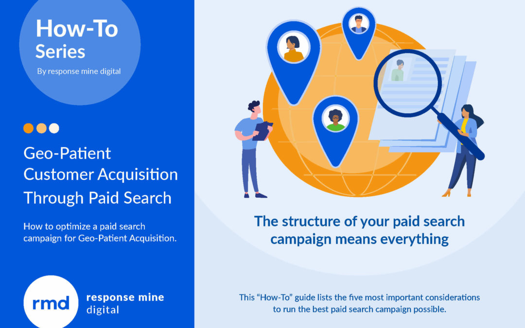 Use paid search for geo-patient customer acquisition