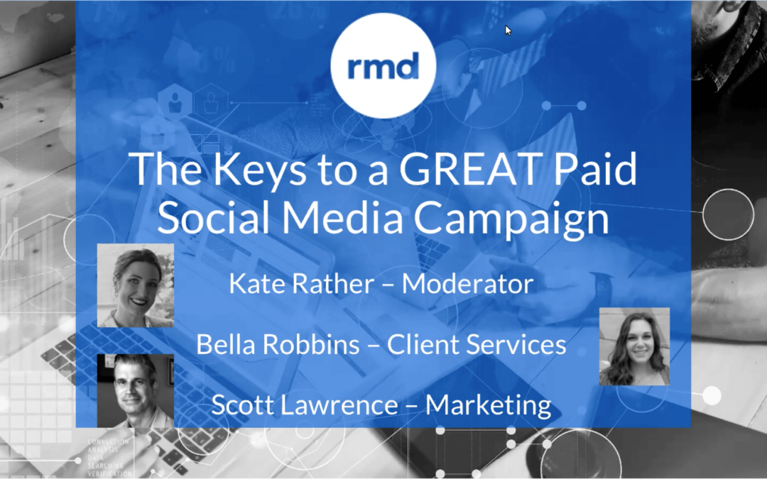 The keys to a great paid social media campaign