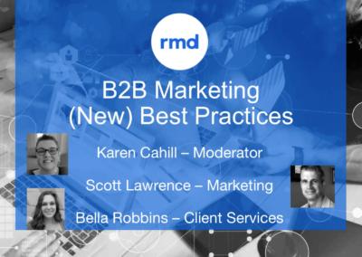 B2B marketing's (new) best practices
